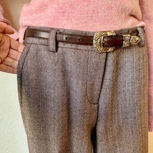 J.Crew Favorite Fit, Wool, fully lined tweed pants